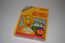 +++ BIG BIRD'S EGG CATCH Sesame Street Atari 2600 Video Game NEW in BOX