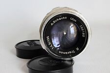 A SCHACHT ULM R TRAVENON 135 MM 1:4.5 16 BLADE PORTRAIT LENS EXAKTA FIT BOXED