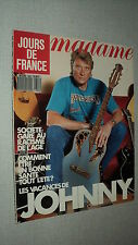JOURS DE FRANCE 1802 (17/7/89) JOHNNY HALLYDAY JAMES BOND BRIALY JARRE SELLECK