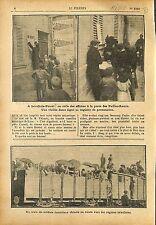 Expulsion des congrégations Petites-Soeurs Levallois-Perret  1911 ILLUSTRATION
