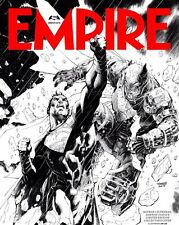 Empire Magazine March 2016 Batman Vs Superman Jim Lee Special Subscribers Cover