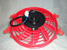 "New Red Colour HIGH PERFORMANCE 9"" INCH THERMO FAN electric fan"