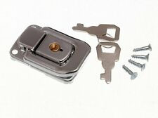 Locking Case Clasp Toggle Fastening Trunk Catch With 2 Keys 48Mm X 33Mm Cp