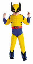 Superhero Squad Wolverine Toddler Muscle Costume 3T-4T INCLUDES CLAWS 66493 NEW