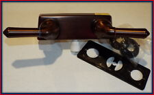 4'' RUBBED BRONZE  Two Handle Shower Valve TUB CAMPER, RV,  TRAVEL TRAILER