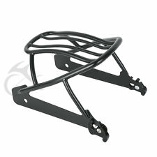 Detachables Solo Luggage Rack For Harley H-D Dyna Super Glide Custom FXDC 07-09