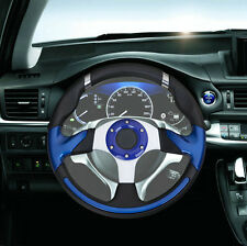"Universal Modified Car MOMO  12.8"" PVC Leather Rally Racing Steering Wheel"