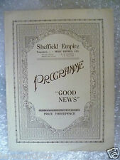 1930s Theatre Programme GOOD NEWS a musical comedy- Bobby Jarvis