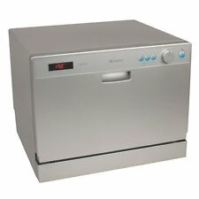 Portable Countertop Dishwasher - EdgeStar Compact Apartment Dish Washing Machine
