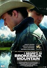 Poster I SEGRETI DI BROKEBACK MOUNTAIN Locandina Originale film CINEMA 100X140