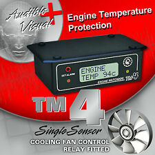 ENGINE WATCHDOG TM4 with Cooling Fan Relay Fitted - Suits All Car Makes & Model