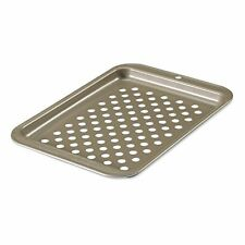 Pizza Crisping Sheet Toaster Oven Accessory Non-Stick Surface Finish With Holes