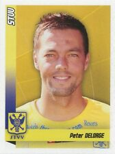 N°381 PETER DELORGE # BELGIQUE SINT-TRUIDENSE.VV STICKER PANINI FOOTBALL 2011