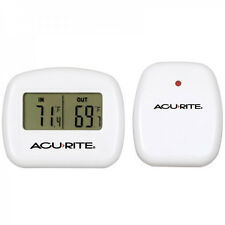 Digital Wireless Thermometer Indoor and Outdoor Temperature 100Ft Range AcuRite