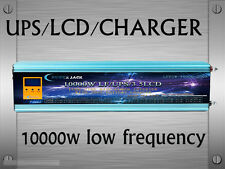 AU Stock~10000W LF Pure SineWave 48VDC/240VAC 50Hz PowerInverter LCD/UPS/Charger