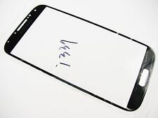 Black Front Lens Screen Glass for Samsung Galaxy S4 GT- I9500 GT-I9505 i337 I545