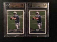 2- 2012 Topps #140D Andrew Luck Twisting Passing Pose SP BGS 9.5 & 8.5 Colts