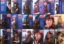 Dr Who Greeting Card Tom Baker Denis Alan Print RARE Complete Set Of 18 . 1970s