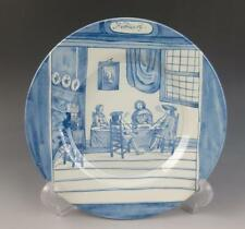 """DELFT METROPOLITAN MUSEUM OF ART FEBRUARY MONTH OF THE YEAR 9"""" PLATE MMA Dutch"""
