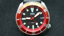 Vintage Seiko divers 7002 Auto MEGA MOD BLOODY MARY 150m Watch J93.