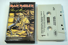 k7 CASSETTE TAPE HARD ROCK IRON MAIDEN – Piece Of Mind 1983 USA C163741 HEAVY