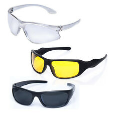 Kawachi Set of 3 Professional Yellow Lens Night Vision Glasses And Black C02
