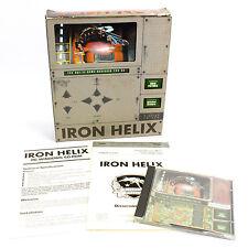 IRON HELIX PC CD-ROM GIOCO DA SPECTRUM HoloByte in Big Box - 1993-Cib-in buonissima condizione