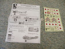 Blue Rider decals 1/72 Red Hungarian Air Corps 1919 N2