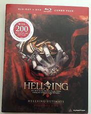 Hellsing Ultimate, Vols. NEW 1-4 Blu-ray/DVD, 2012  5-Disc Set