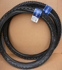 "COPPIA 26 ""x2,25 Schwalbe Black Shark PNEUMATICI MTB Mountain Bike ciclo Wide Pneumatici 26"""