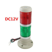 DC12V Red Green Signal Industrial Tower Warning Lamp Stack Light Alarm Apparatu