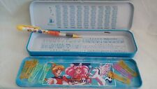Sailor Moon Pretty Soldier Blue Metal Pencil Box  With Removable Tray  NEW