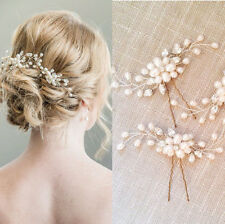 Fashion Strass Pearls Flower Wedding Bridal Hair Pin Hairpin Clip Headband Comb
