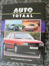 AUTO TOTAAL VW, AUDI EN AUTO UNION,QUATTRO,KEVER,GOLF,411,CABRIO,D-TYPE STUCK
