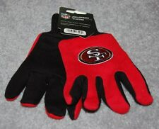 CHILDS/YOUTH SAN FRANCISCO 49ERS NFL ALL PURPOSE/ UTILITY WORK GLOVES 4-7 YEARS