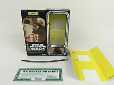 "replacement vintage star wars 12"" jawa box + inserts fantastic quality"