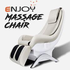 New Electric Shiatsu Massage Chair Recliner ENJOY Full Body White
