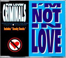 FUN LOVIN' CRIMINALS - I'M NOT IN LOVE - CD SINGLE