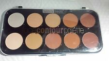 BEAUTY TREATS FACE CONTOUR PALETTE 10 SHADES PALETA DE CONTORNO 10 COLORES