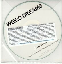 (DD148) Weird Dreams, Hurt So Bad - DJ CD