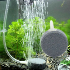 Aquarium Fish Tank Air Stone Disk Diffuser Bubble Plate Aerator Pump Hydroponic