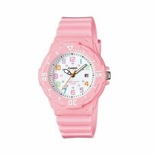 Casio Women's Light Pink White Sport Date 12/24 100M Watch LRW200H-4B2