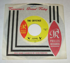 """The Crystals 7"""" 45 HEAR GIRL GROUP SOUL Uptown PHILLES What A Nice Way To Turn"""