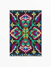 Mid Evil Tapestry~Pony Bead Banner Pattern Only