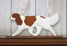 Cavalier King Charles Spaniel Dog Figurine Sign Plaque Display Wall Decoration B