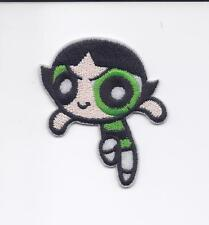 """2 1/2"""" Buttercup Powerpuff Girls  Iron on Embriodered Patch patches green girl"""