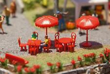 NEW HO 1:87 scale Sun Umbrellas,Chairs, Tables & Benches Model Detail KIT 180910