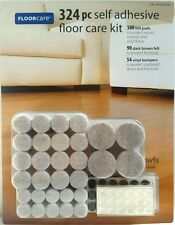 FLOORCARE 324 pc self adhesive floor care kit pads and bumpers