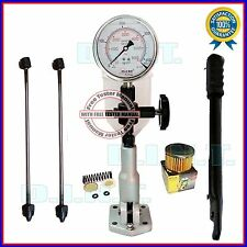 Diesel Injector Nozzle Pop Pressure Tester Glycerin Filled 6000 BAR/PSI SS Gauge