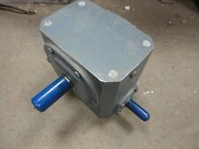 BOSTON GEAR OFFSET RIGHT ANGLE DRIVE  732-10-J  RATIO: 10 LL  SEE PHOTO'S